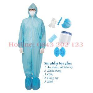 đồ bảo hộ chống dịch