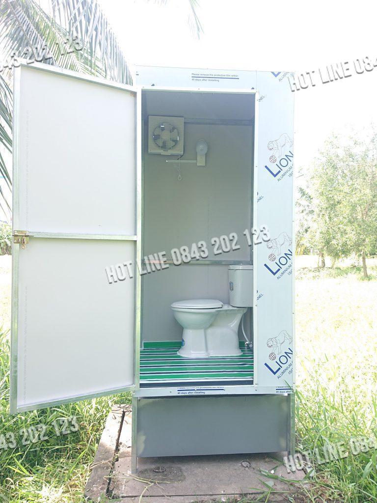 nhà vệ sinh đơn