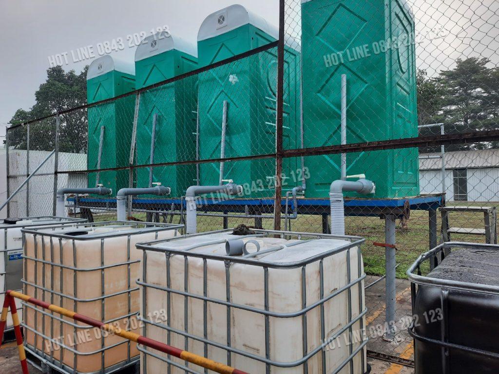 INO VINA là đơn vị uy tín chuyên sản xuất lắp đặt các loại nhà vệ sinh di động