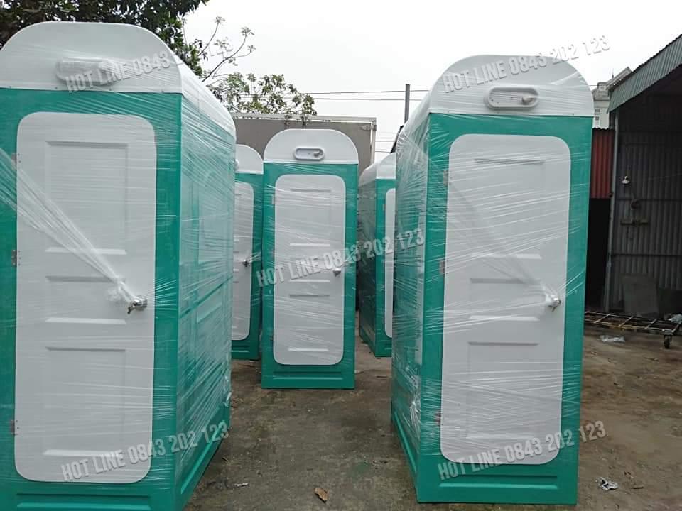 Mẫu nhà vệ sinh di động lắp ghép phổ biến trên thị trường